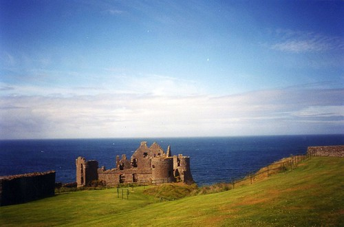 ruins of Dunluce castle | by talliskeeton