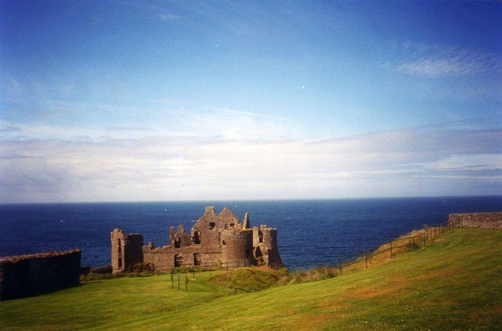 ruins of Dunluce castle
