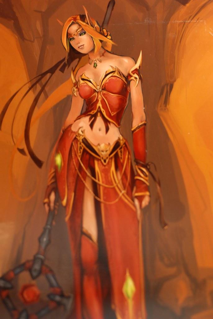 Blizzcon || Blood Elf Priest, World of Warcraft | Follow me