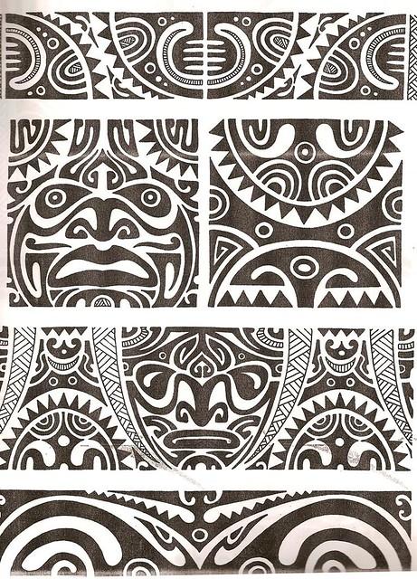 Maori Tattoo Kirituhi Polinesia Polynesian Tatuaje Flickr