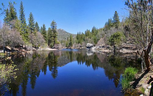california travel vacation panorama usa mountain reflection nature water forest canon landscape photo day picture photographers clear southerncalifornia 2010 lakefulmor pinecove autopanopro 40d highway243 photographersnaturecom davetoussaint davetoussaintcom homepagetile pinestopalmshwy