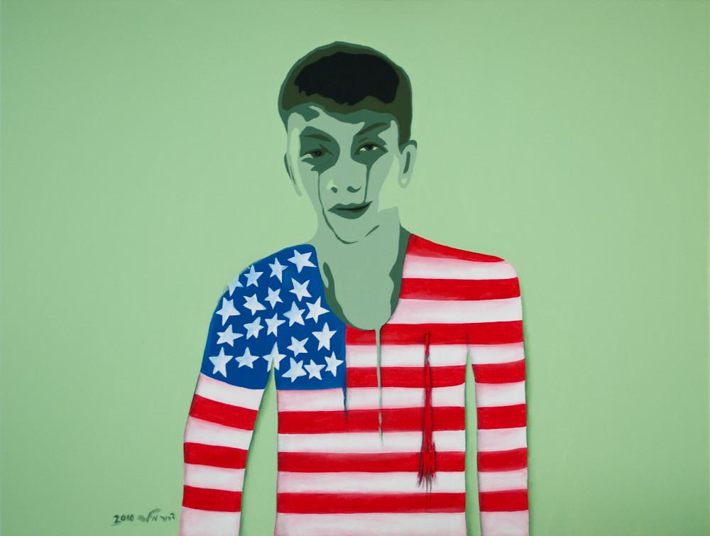 Green Boy by Dror Miler