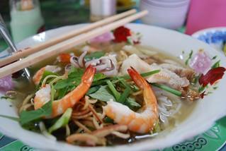 Bún Mắm Sóc Trăng - prawns - Vinh Long Market VND20000 | by avlxyz