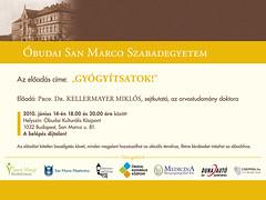 2010. május 11. 14:07 - Prof. Dr. Kellermayer Miklós: 'Gyógyítsatok!'