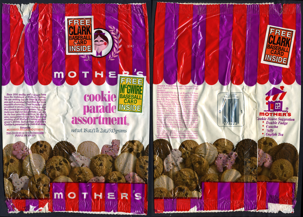 Mothers Cookies Cookie Parade Assortment Clark Mcgwir