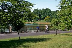 Druid Lake Reservoir bikers