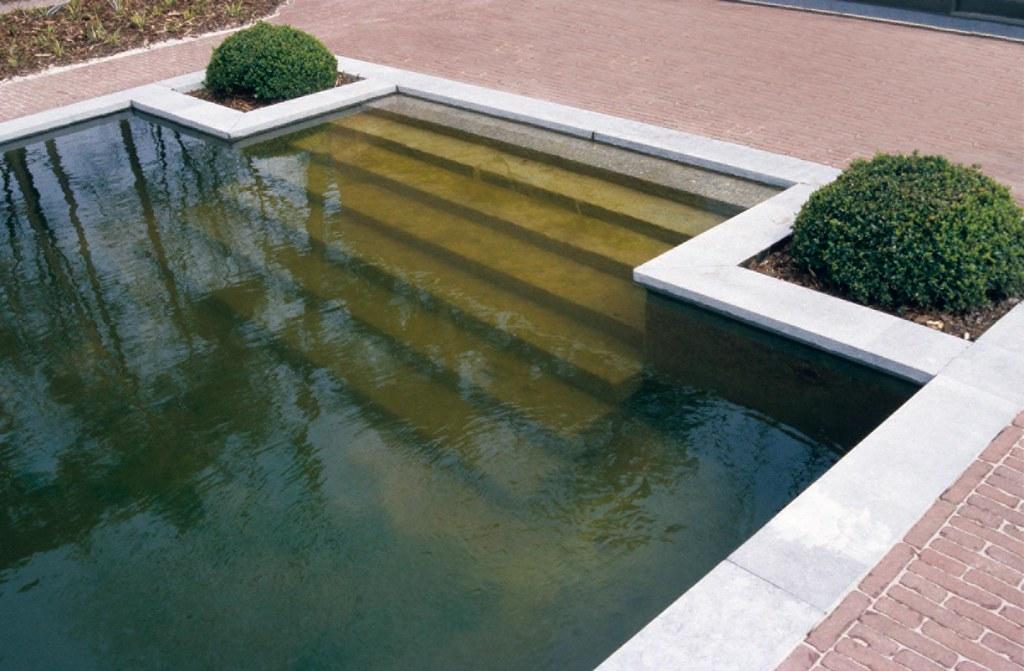 The Pond An Element Of Modern Garden Design A Water Feat Flickr