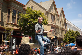 11685 Dave conducts from up above while Rocking The Bike | by sfbike