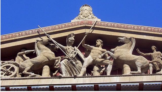 -0450 La disputa de Atenea y Posidón