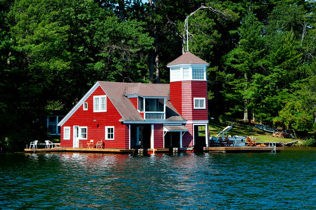 Red Boathouse