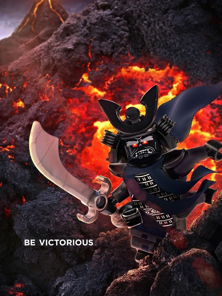 lego ninjago movie lord garmadon poster  lord garmadon