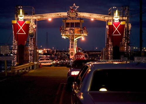 christmas sunset ferry lynchburg