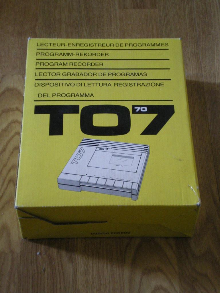 thomson to 7 70 la boite du lep lecteur enregistreur de p flickr flickr