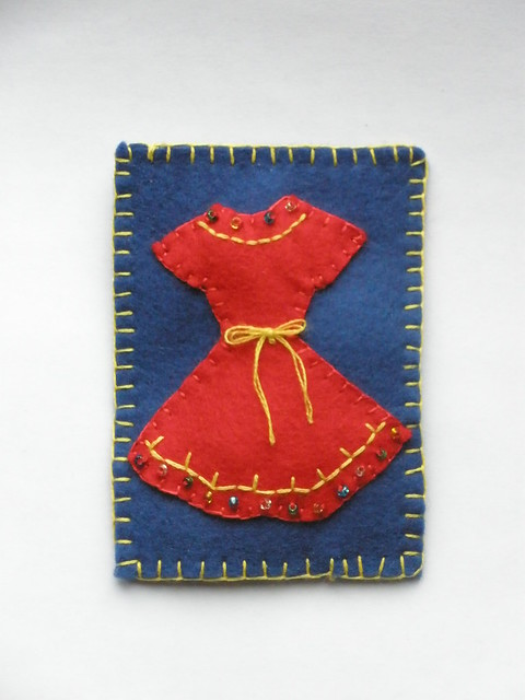 Red Dress ACEO