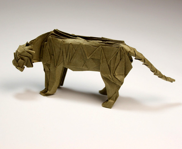 Chinese Zodiac Origami Tiger Folding Instructions - How to make an Origami  Tiger | 524x640