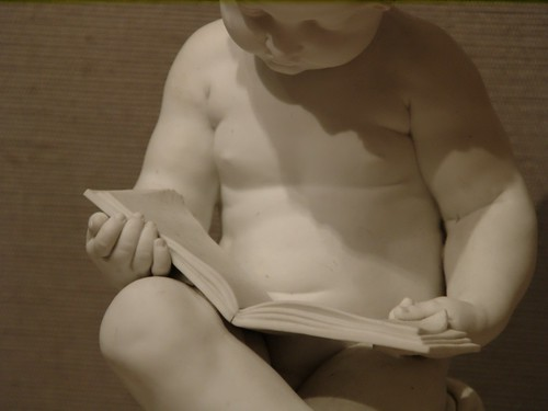 Child Reading, by Dihl et Guerhard Manufactory (Boston, MA) | by takomabibelot