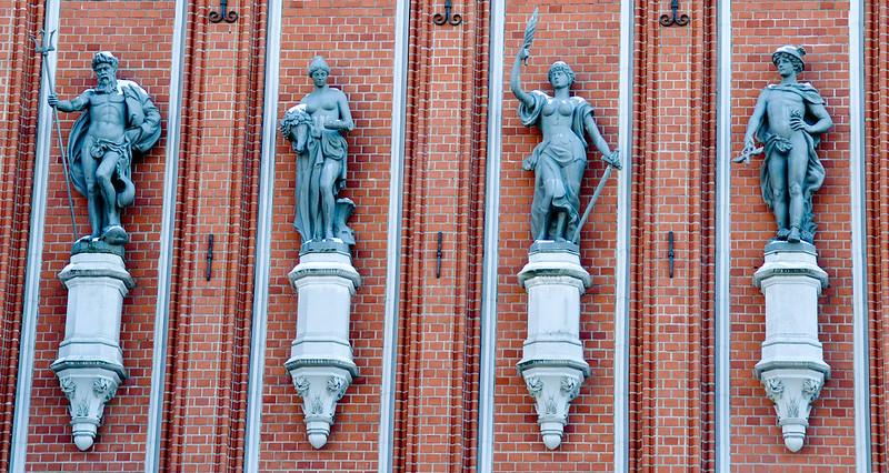 Blackheads House, Riga, Latvia