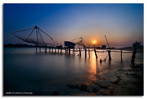 light sunset sea india net digital interestingness high fishing nikon long exposure dynamic fort chinese kerala 63 explore range fp frontpage cochin hdr kochi blending d300 nd400 danielcheong bratanesque danielkhc tokina1116mmf28