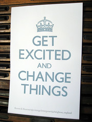 Get excited by vintage letterpress | by flowers&fleurons