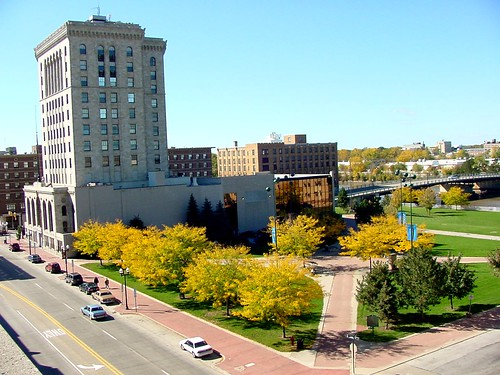 Morley Plaza in Downtown Saginaw | by Saginaw Future Inc.