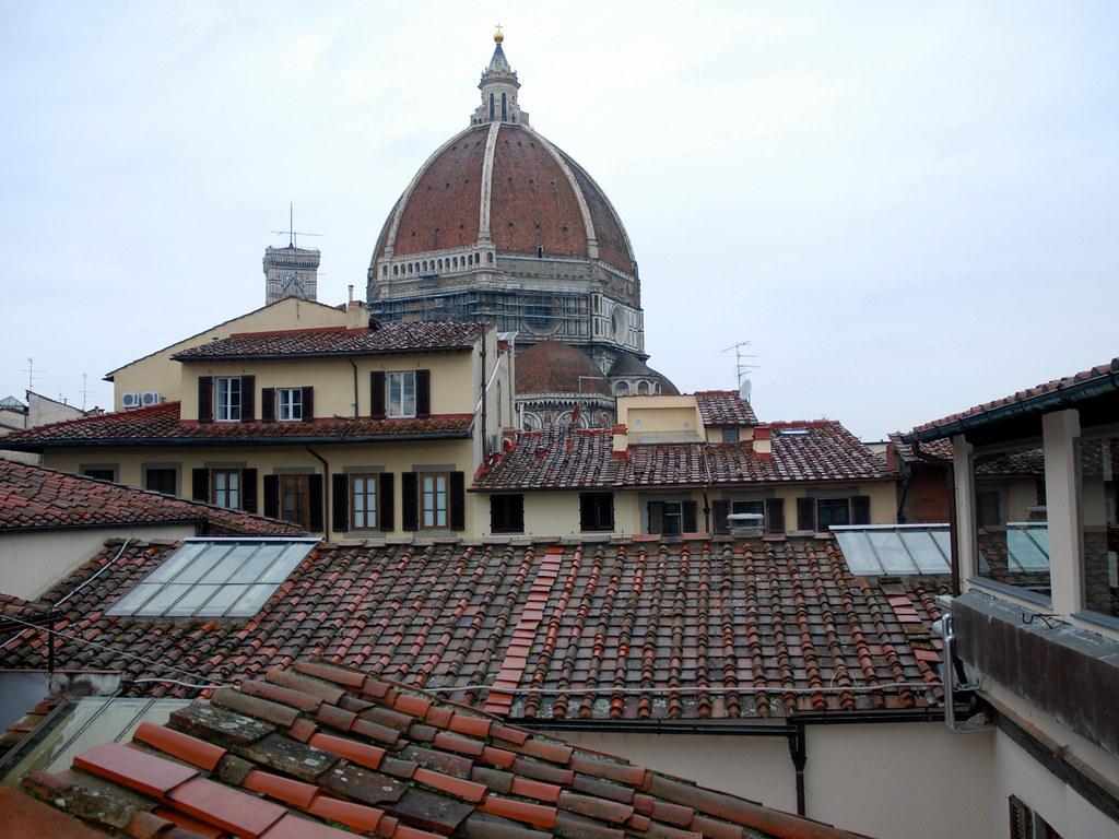 Vista Dalla Terrazza Della Biblioteca Delle Oblate Flickr