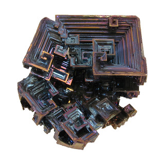 Bismuth Crystal Cluster | by Paul's Lab