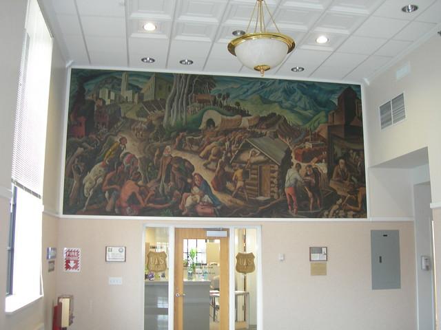Provo Utah Post Office Mural