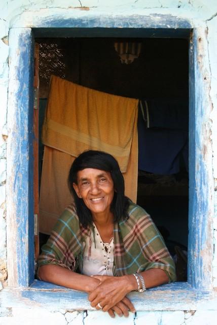Sra. Raquel. Parque Nacional Chapada Diamantina - Bahia