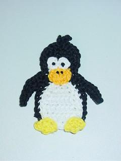 Pingouine - Applique