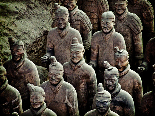 Terracotta Warrior Statues at Xian, China | by kevinpoh