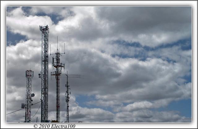 Las antenas ...