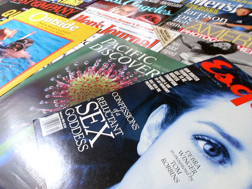Magazine Logos by Jim Parkinson | by FontShop
