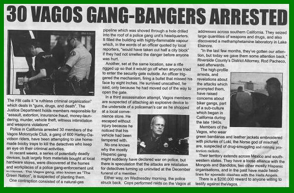 VAGOS MC NEWS CLIPING 2010   It is just bull shit that they …   Flickr