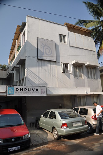 One of the Dhruva buildings | by Ernest W Adams