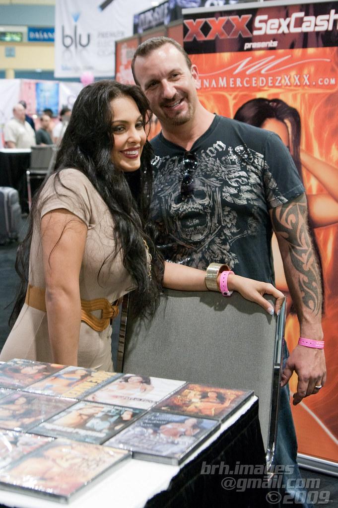 Nina Mercedez & Ray Balboa @ eXXXotica Miami 2010