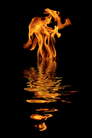... Fire Angel - Uploaded for iPhone Wallpaper Group | by peasap