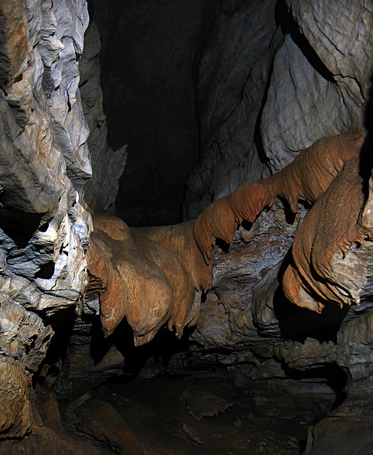 Flowstone, Blue Spring Cave, White Co, TN