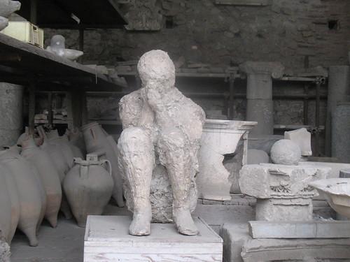 """Statue"" at Pompeii   by rlima_pt"