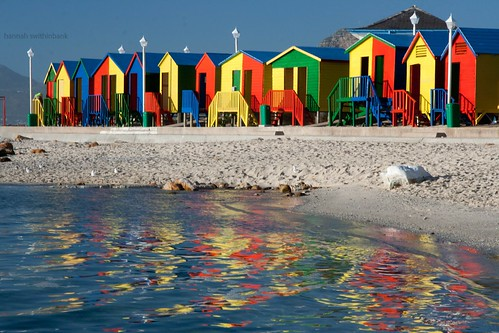 Beach Huts go Swimming | by Swiv
