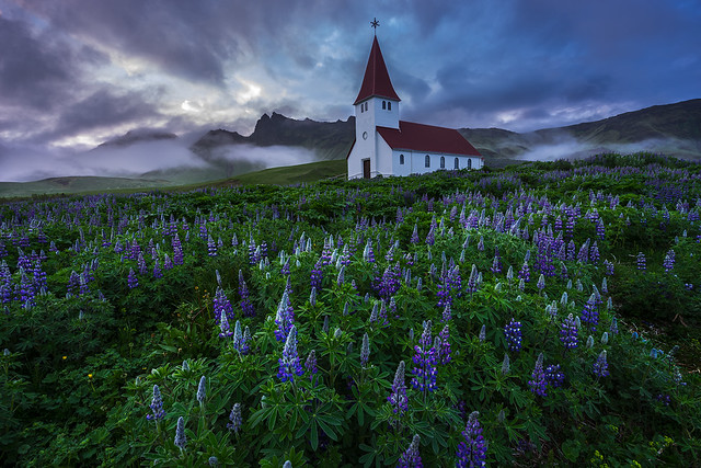 The Church Of Vik, Iceland