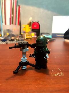 Lego rainbow six siege Tachanka | I did't made character jus