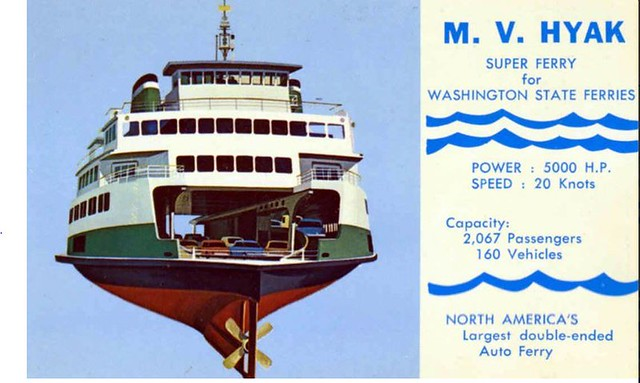 North America's largest double-ended Auto Ferry