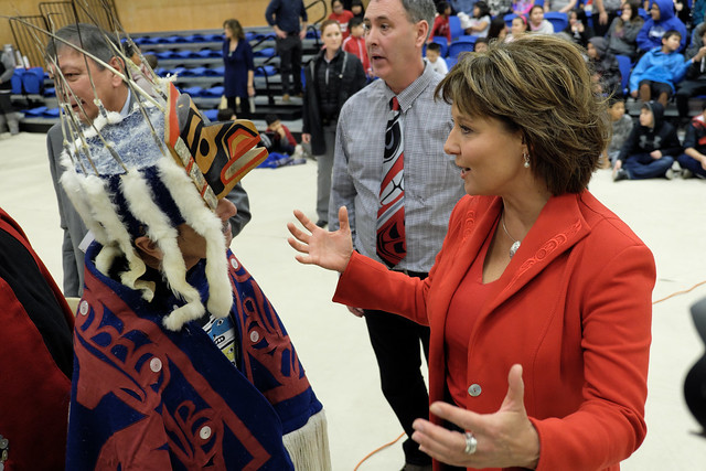Visit highlights bright future for Lax Kw'alaams