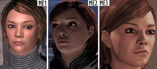 Amy Shepard, ME1, ME2, ME3 femShep female face | by ArcadiaGrey