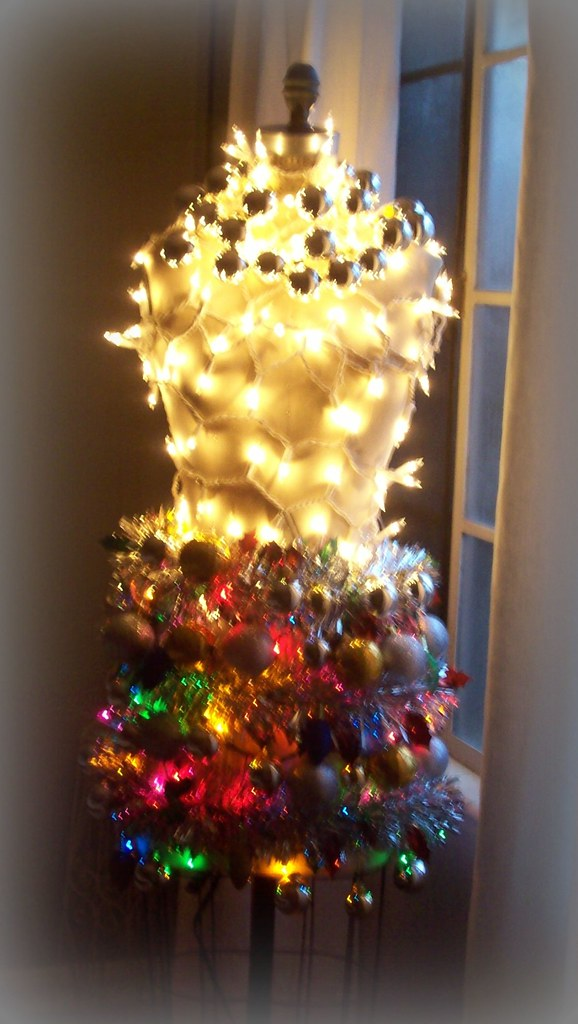 Dress Form Christmas Tree.Dress Form Christmas Tree I Decided Not To Put Up A Christ