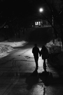 A Couple Walks at Night | by Maxwell GS