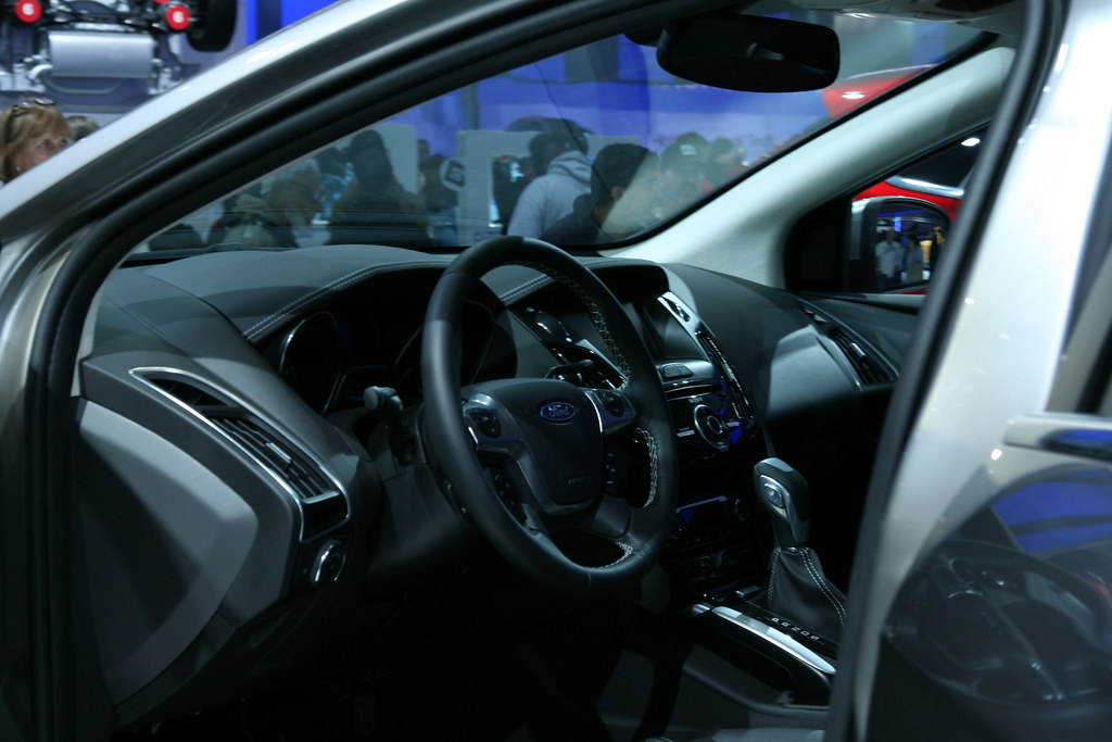 2012 Ford Focus Interior Quite Nice For A Small Entry Leve Flickr