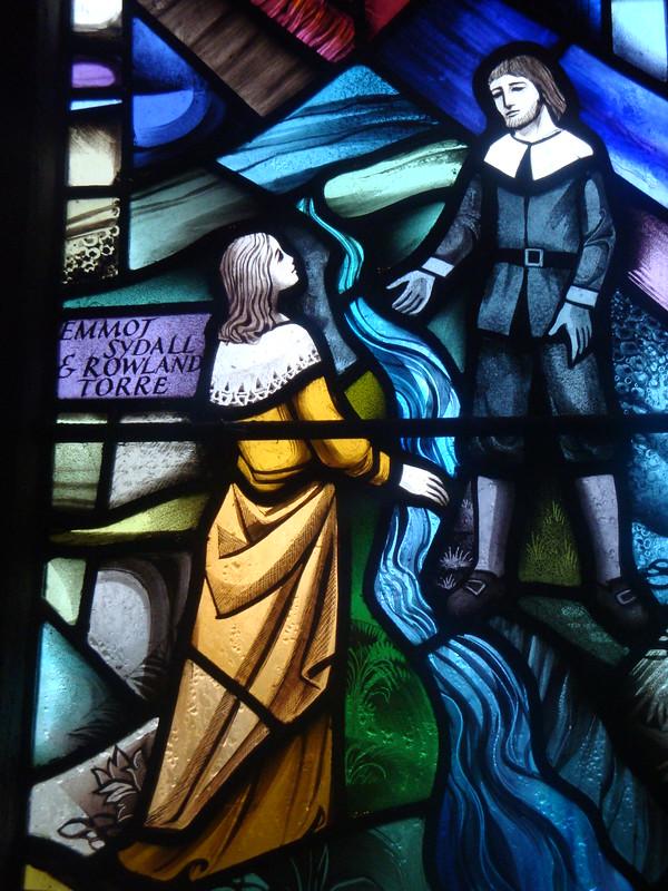 [1720] Eyam : Plague Window - Emmot Sydall & Rowland Torre