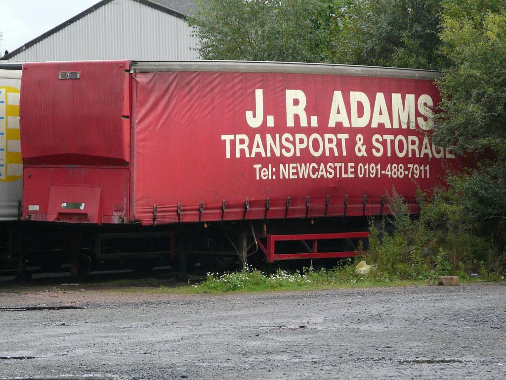 JR Adams Transport and Storage Newcastle