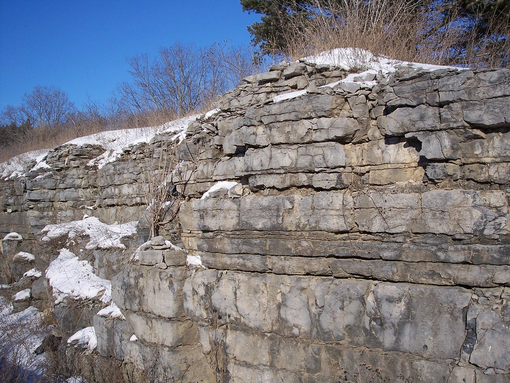 Marcellus Shale Outcrop   On my trip to Marcellus, NY to get…   Flickr